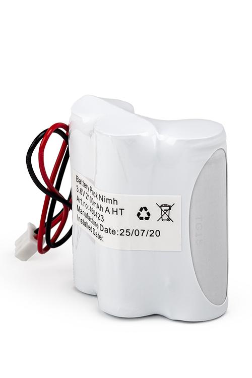 NiMH Batteripack 3,6V 2100mAh